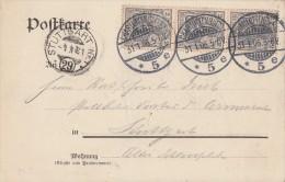DR Karte Aus Dem Reichstag Mef Minr.2x 83I Charlottenburg 31.1.06 - Deutschland