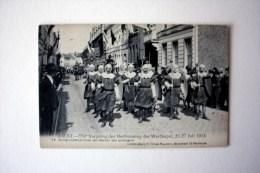 Aalst  550° Verjaardag Der Herbouwing Der Werfkapel 20-27 Juli 1913  N° 14  Groep Voetknechten - Aalst