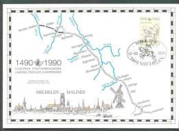 2350HK 2350 Herdenkingskaart Innsbruck - Mechelen - Cartas