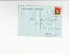 Enveloppe  Timbrée  Flamme De  Cie Transatlantique France -Voir Scan Adressé A Mme Decouflet  Au Havre 76 - Poste Aérienne