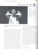 ANUARIO TEATRAL 1998 1999 EDITADO POR LA BUTACA PRODUCCIONES BUENOS AIRES SEPTIEMBRE DE 1999 615 PAGINAS - Theatre
