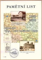 Czech Rep. / Commemorative Sheet (PaL 2010/02) Ceske Budejovice 2: 140 Years Railway Line Vienna-Czech Budejovice-Plzen - Blocks & Sheetlets