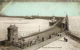 Admiralty Pier, Dover, Kent Postcard Dainty Series - Dover