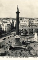 LONDON. The Nelson Monument. Trafalgar Square - 2 Scans - Other
