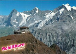 Schilthorn BE, Switzerland Postcard Used Posted To UK 2003 Stamp - BE Berne