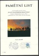 Czech Rep. / Commemorative Sheet (PaL 2007/02) 301 00 Plzen 1: 90 Years Of Scouting In Pilsen (1917-2007) - Blocks & Sheetlets