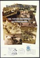 Czech Rep. / Commemorative Sheet (PaL 2008/03) 261 01 Pribram 1: 95 Years Of Scouting In Pribram (1913-2008) - Blocks & Sheetlets