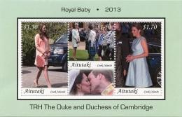 AITUTAKI - 2013 - Royal Baby  -  BF Neufs // Mnh - Aitutaki