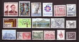 ICELAND Small Lot Michel Cat °  Mint MNH** Used - Iceland