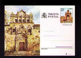 España Spain TOLEDO Hospital Hôpital Santa Cruz Architecture Pont Alcantara Sculptures Santé Postal Stationery Sp2728 - Medicine