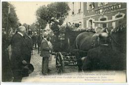 Mont De Marsan Fêtes Présidentielles Du 6 Octobre 1913 POINCARE Donne L'accolade Aux Enfants - Mont De Marsan