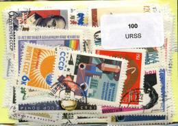 Lot 100 Timbres URSS - Vrac (max 999 Timbres)