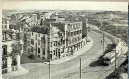 4cp878: WENDUINE  06 - Avenuez Leopold -II Leopold-II Laan... Met Tram - Wenduine