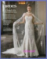 PUBLICITES USA MAGAZINE ADVERTISEMENT RECLAME WERBUNG REKLAME PUBBLICITA PUBLICIDAD For  BRIDAL FASHION GOWN DRESS KLEID - Publicités