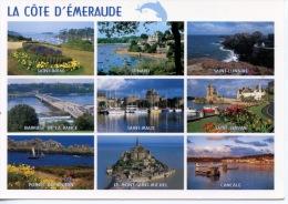 Côte D´Emeraude Multivues : Briac Dinard Lunaire Rance Malo Servan Grouin Cancale Mont Michel - Frankreich