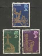 UK 1978 Used Stamp(s) QE II Jubilee Nrs. 765-768 3 Values Only # 14418 - 1952-.... (Elizabeth II)