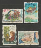 NEDERLAND 1980 Serie Kinder Zegels Gestempeld 1210-1213 # 1264 - Period 1980-... (Beatrix)