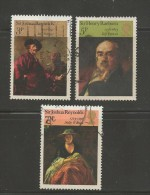 UK 1973 Used Stamp(s) Paintings Nrs. 624-627, #14385, 3 Values Only, Thus Not Complete - 1952-.... (Elizabeth II)