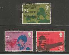 UNITED KINGDOM 1976 Mint Never Used Stamp(s)  Industrialist  3 Values Only  , #14090 - 1952-.... (Elizabeth II)