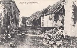 Photocarte Allemande- Willerval Ruines Du Village Dép62 (guerre14-18)2scans - Guerre 1914-18