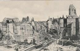 Photocarte Allemande- ARRAS  Gegend Vom Rathaus Und Der Strasse Saint-Gery Dép62 (guerre14-18)2scans - Guerre 1914-18