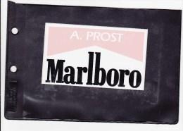 Sticker Marlboro - Alain Prost - Automobile - F1