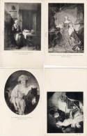 GREUZE (La Laitière) FRAGONARD (La Leçon De Musique : Piano) MAAS (Le Bénédicité)(65820) - Paintings