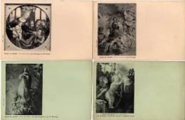 Musée Du Louvre - Pochette De 8 CPA (4 Reproduites ) ReproTableaux (65821) - Paintings