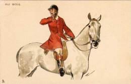 ? - Au Bois - Genre Viennoise - Cheval Et Cavalier  (65834) - Vienne
