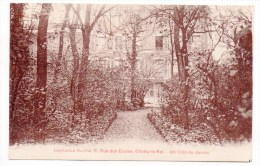 CP, 94, CHOISY-le-ROI, Institution Racine...Un Coin Du Jardin, Ecrite En 1925 - Choisy Le Roi