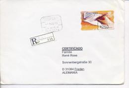 Gelaufener Einschreibebrief (R-letter) Von Spanien Nach Deutschland, 1993 - *) - Luftpost
