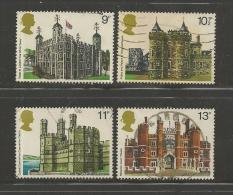 UK 1978 Used Stamp(s) British Architecture Nrs. 760-763 #14417 - 1952-.... (Elizabeth II)