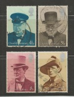 UNITED KINGDOM 1974 Mint Never Used Stamp(s)  Sir Winston Churcheill   Nrs. 659-662 #14082 - 1952-.... (Elizabeth II)