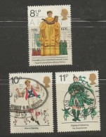 UK 1976 Used Stamp(s) British Cultural Traditions Nrs. 715-718 #14407 3 Values Only - 1952-.... (Elizabeth II)