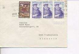 Gelaufener Brief Von Spanien Nach Deutschland, 1985 - *) - Luftpost