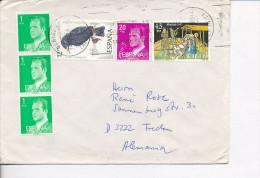 Gelaufener Brief Von Spanien Nach Deutschland, 1986 - *) - Luftpost