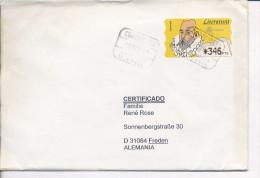 Gelaufener Brief Von Spanien Nach Deutschland, 1997 - *) - Luftpost