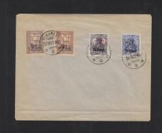 Romania German Occupation Cover Bucharest 1917 - Cartas De La Primera Guerra Mundial