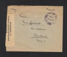 Feldpostbrief FP 2273 Nach Konstanz Geprüft - Deutschland