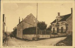 89 MIGE / Sortie Du Pays Vers Charentenay / - Autres Communes