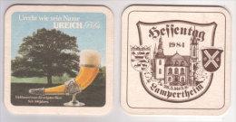 Ureich Brauerei Eichbaum Mannheim Pils , 1984, Hessentag Lambertheim - Bierdeckel