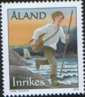 Aland 2010 The Mail Route 1v Complete Set ** MNH - Aland