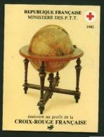 Carnet Croix Rouge CR 1982 N° 2031  Oblitéré Rouge   Cote Y&T   11,00  €uro  Au Quart De Cote - Booklets