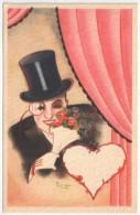 BIRGER - Jeune Femme - Fleurs - Autres Illustrateurs