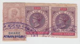 India  QV 3Ax2  Share Transfer Revenues  # 81243   Inde Indien - Zonder Classificatie