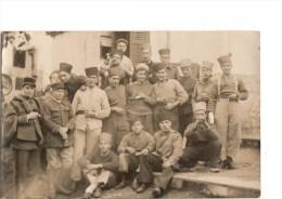 CARTE PHOTO--ALGERIE---FORD NATIONAL Fait A L´hopital Militaire De FORT NATIONAL--ZOUAVE---le 28-12-1932---voir 2 Scans - Other Cities