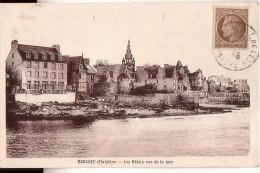 ROSCOFF: Les Hôtels Vus De La Mer - Roscoff