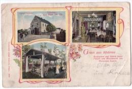 Gruss Aus Röderau, 1906, Restaurant Hermann Lamm  (z027) - Non Classificati