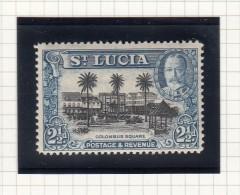 KING GEORGE V - 1936 - St.Lucia (...-1978)