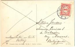 4cp-833: Fantasiekaartje Met 1 Cent: VELP(GLD) / 27.XII.12/ *4* > Hoboken Lez Anvers... - Periode 1891-1948 (Wilhelmina)